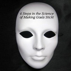 4 steps science of  goals LOGO