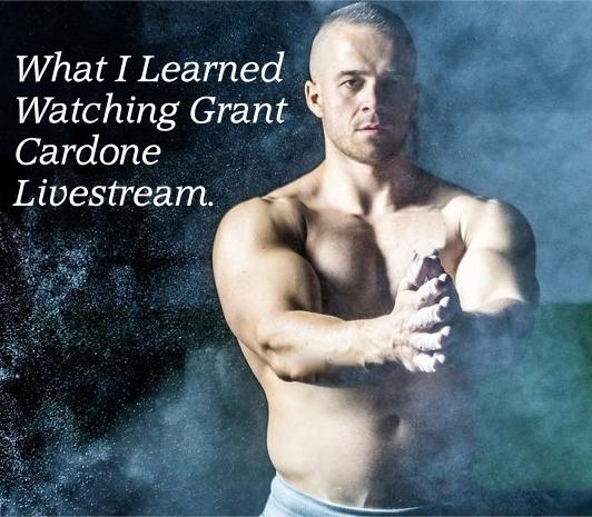 What I learned Watching Grant Cardone Live stream