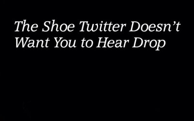 The Shoe Twitter Doesn't Want You to Hear Drop