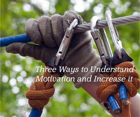 Three Ways to Understand Motivation and Increase It