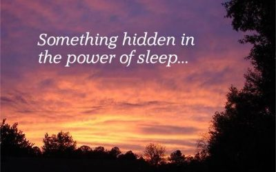 Something Hidden in the Power of Sleep