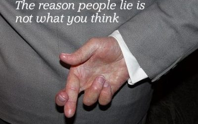 The reason people lie is not what you think